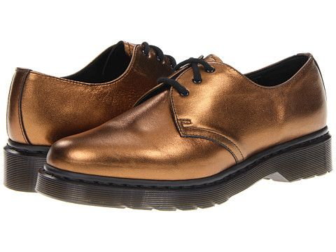 Dr Martens 1461 3 Eye Gibson Bronze Zappos Shoes Boots Dress Shoes Men
