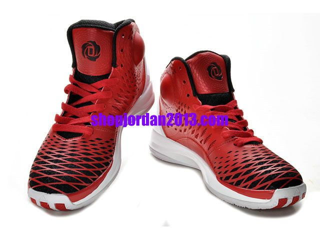 87985cdadfb Adidas AdiZero Rose 4.0 Shoes Red White Cheap NBA Basketball Shoes  Red   Womens  Sneakers