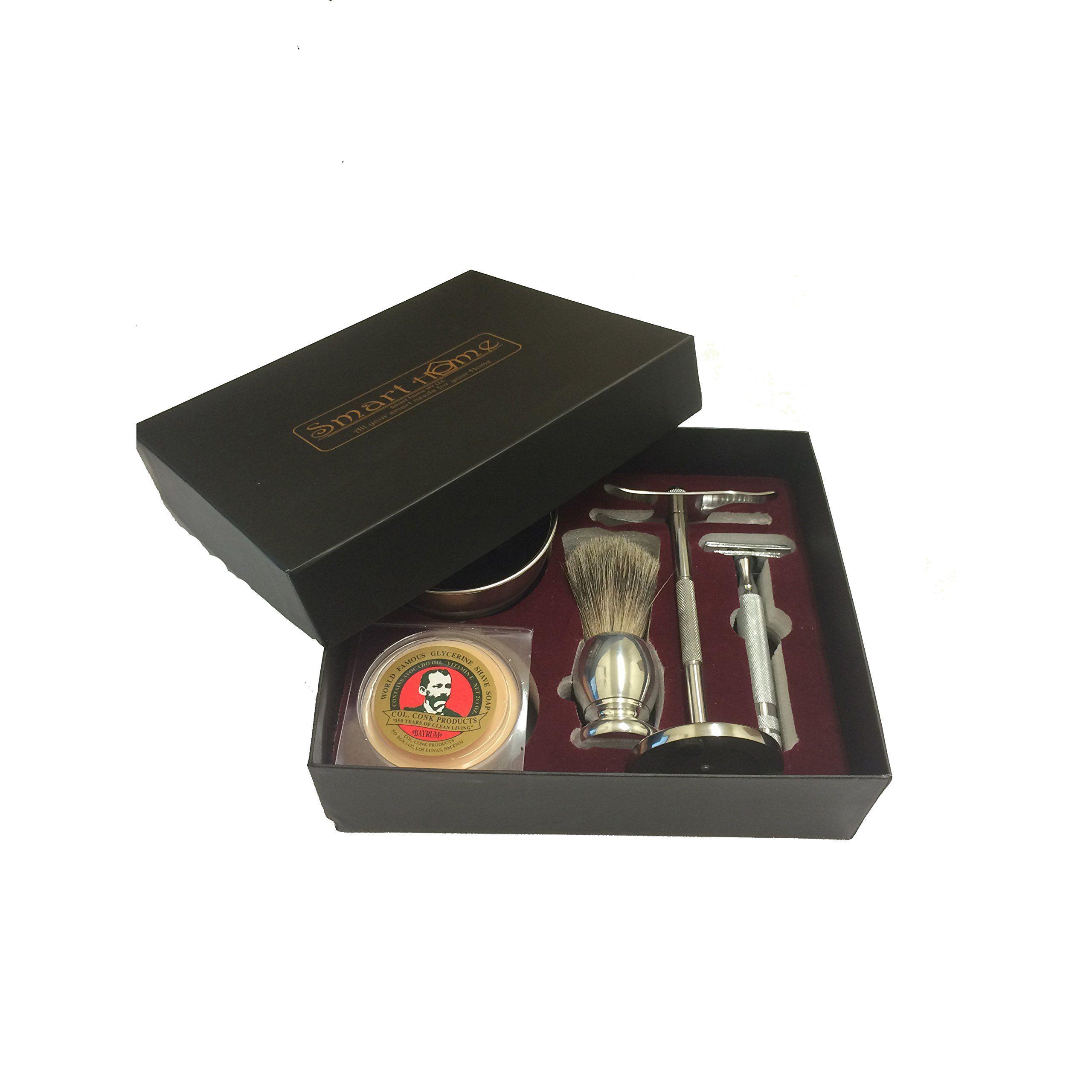 COMPLETE PREMIUM MEN'S SHAVING SET Shaving Gift Set with