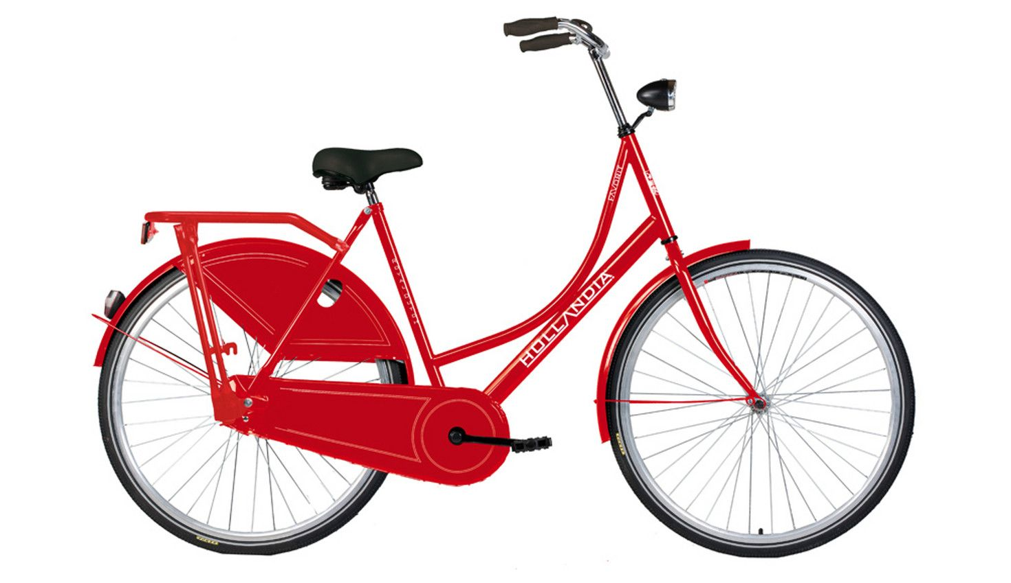 Hollandia Royal Dutch City Bike Red With Images City Bike