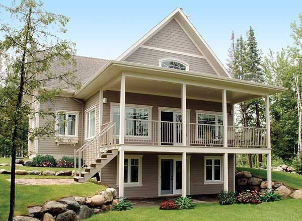Plan 21565dr Dream Design With Many Options Country Cottage House Plans Basement House Plans Lake House Plans