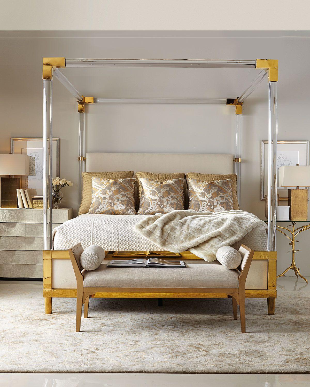 Bernhardt Hayworth King Bed & Bench Home design living