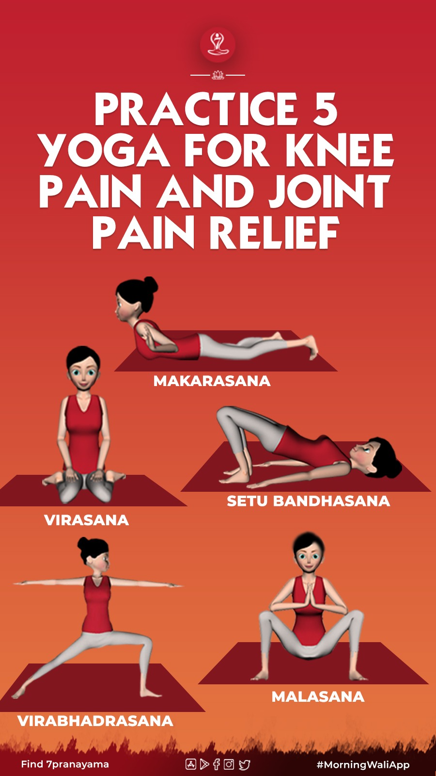 5 Effective Yoga For Knee Pain And Joint Pain Relief