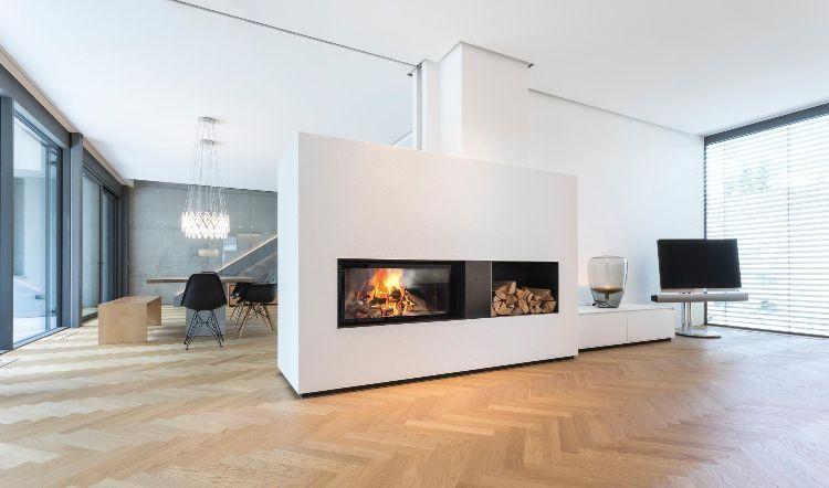 Gut gemocht Kamin mitten im Raum – Gestalten Sie Ihr Wohnzimmer mit einer TH89