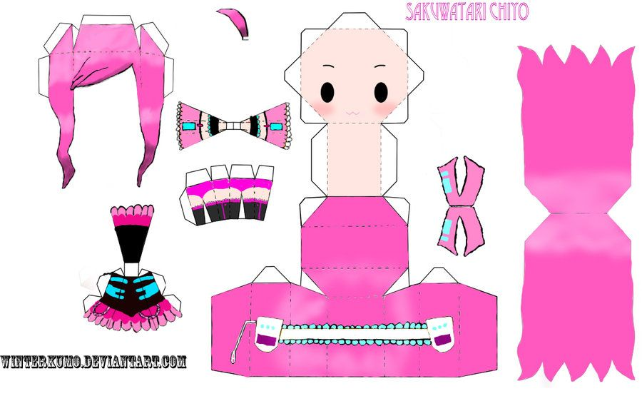 Cute papercraft templates google search paper toy for Cute papercraft templates
