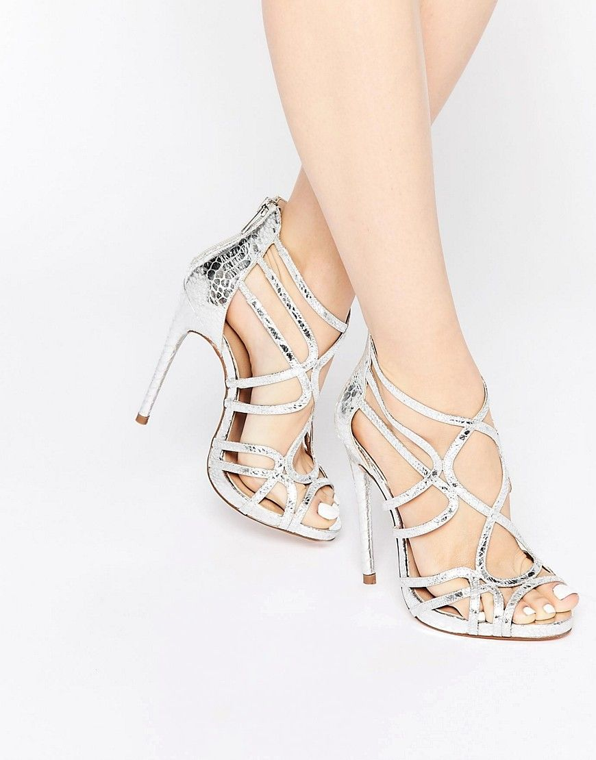 ASOS Collection Shoes Women ASOS HEARTBEAT Caged Heeled Sandals