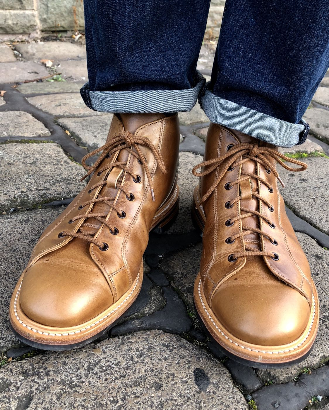 My Trickers Ethan Monkey Boots..04/11