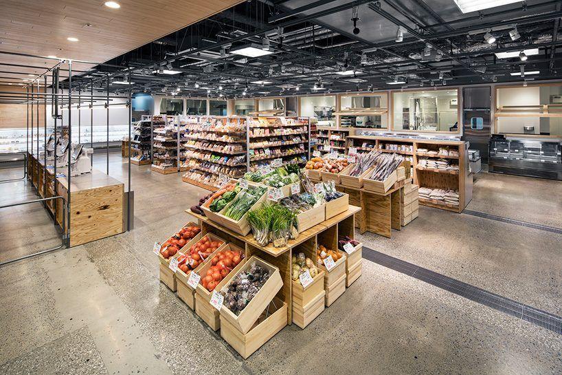 061238b7a58 schemata architects fukushimaya supermarket tokyo designboom 01 Deli