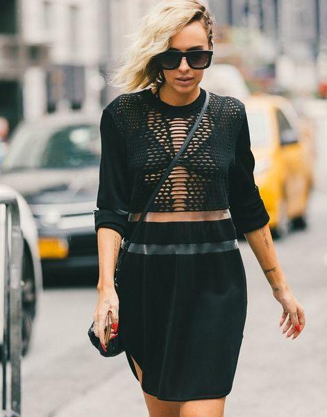 Minimal & Monochromatic Style. // The Best Street Style Inspiration From NYFW: (http://www.racked.com/2015/9/11/9309889/nyfw-street-style#4829912)