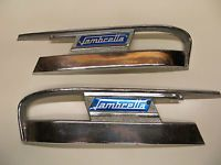 "Orig.1960s""VIGANO""Lambretta LI/TV/SX  Accessory Side Panel Heel/Kick Plates ULMA"