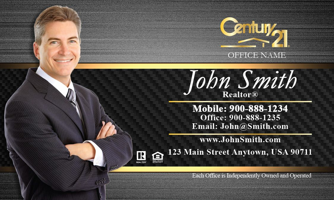Free Best Century 21 Real Estate Business Cards Ideas | Business ...