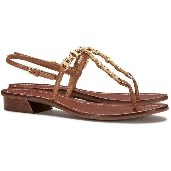 a0760b88fa2 Tory Burch Gemini Link T-Strap Sandals (1