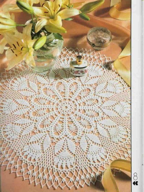 Ideas para el hogar: Carpetas | tejidos crochet para el hogar ...