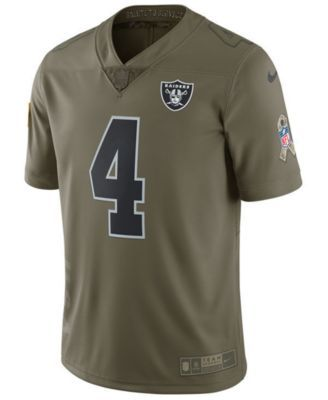 e365484c Nike Men's Derek Carr Oakland Raiders Salute To Service Jersey ...