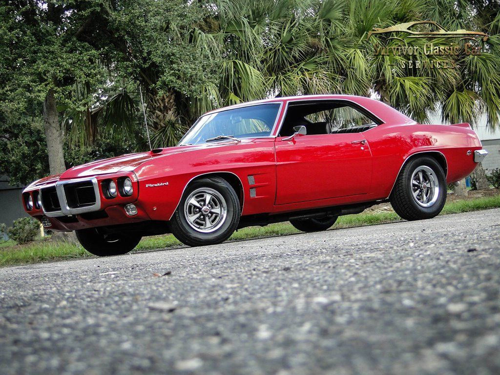 1969 Pontiac Firebird : Survivor Classic Car Services – Tampa – 2221 South Dock …