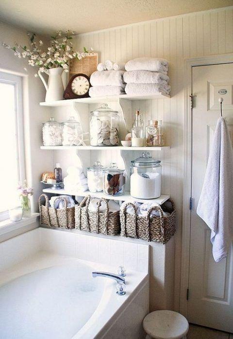 Estanterías y armarios para el cuarto de baño   Cuarto de baño ...