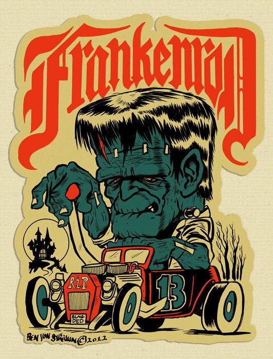 Tattoos movie horror frankenstein frankenstein and his bride