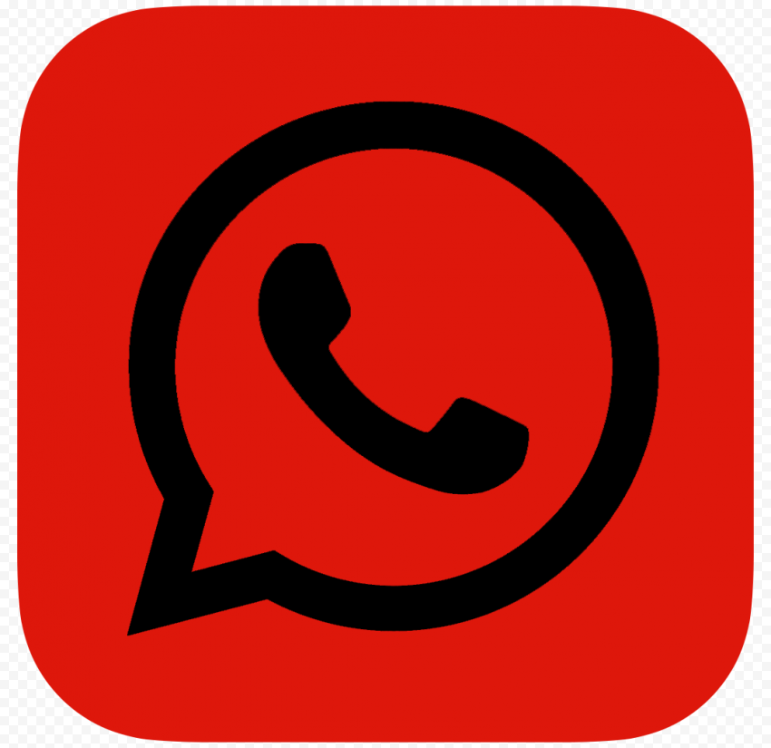 Hd Dark Red Black Whatsapp Wa Whats App Logo Icon Png Citypng In 2021 App Logo Logo Icons Black And Red