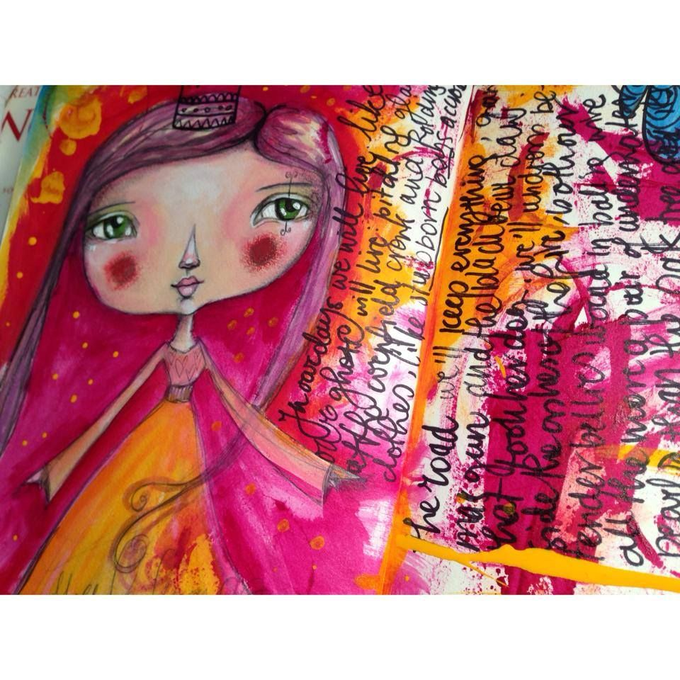 Tamara Laporte http://www.willowing.org - Cute whimsy happy happy colour combination