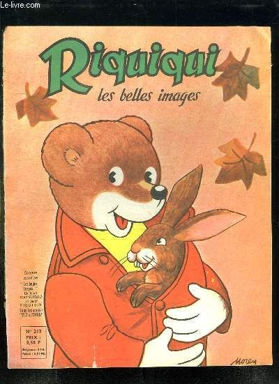 RIQUIQUI LES BELLES IMAGES N° 213. OCTOBRE 1964.