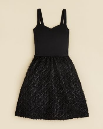 Sally Miller Girls' Tie Waist Katy Dress - Sizes S-xl - Black #sallymiller