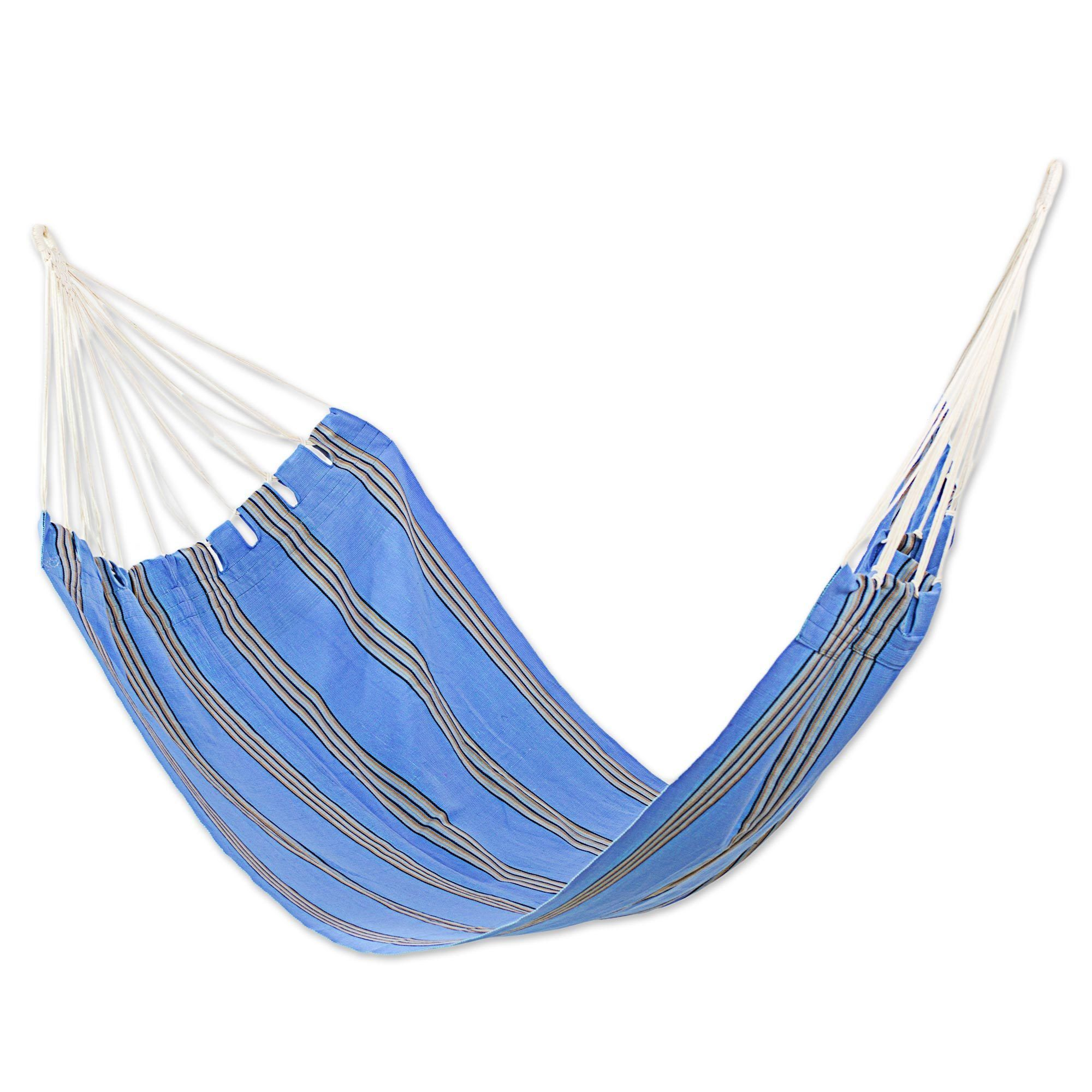 soft hammock woven two outdoor brazilian cotton dp bed backyard supreme and for hammocks handmade amazon person indoor com double sky use porch fabric