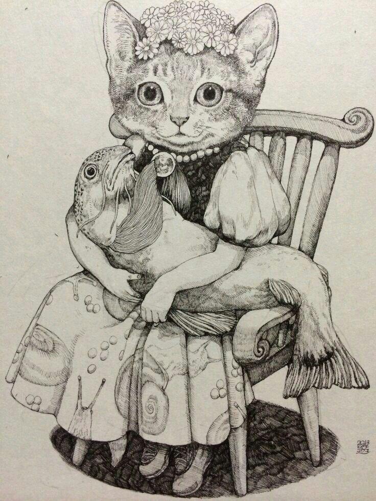 Pin von Dana Van Meter auf Animals in art   Pinterest   Domina ...