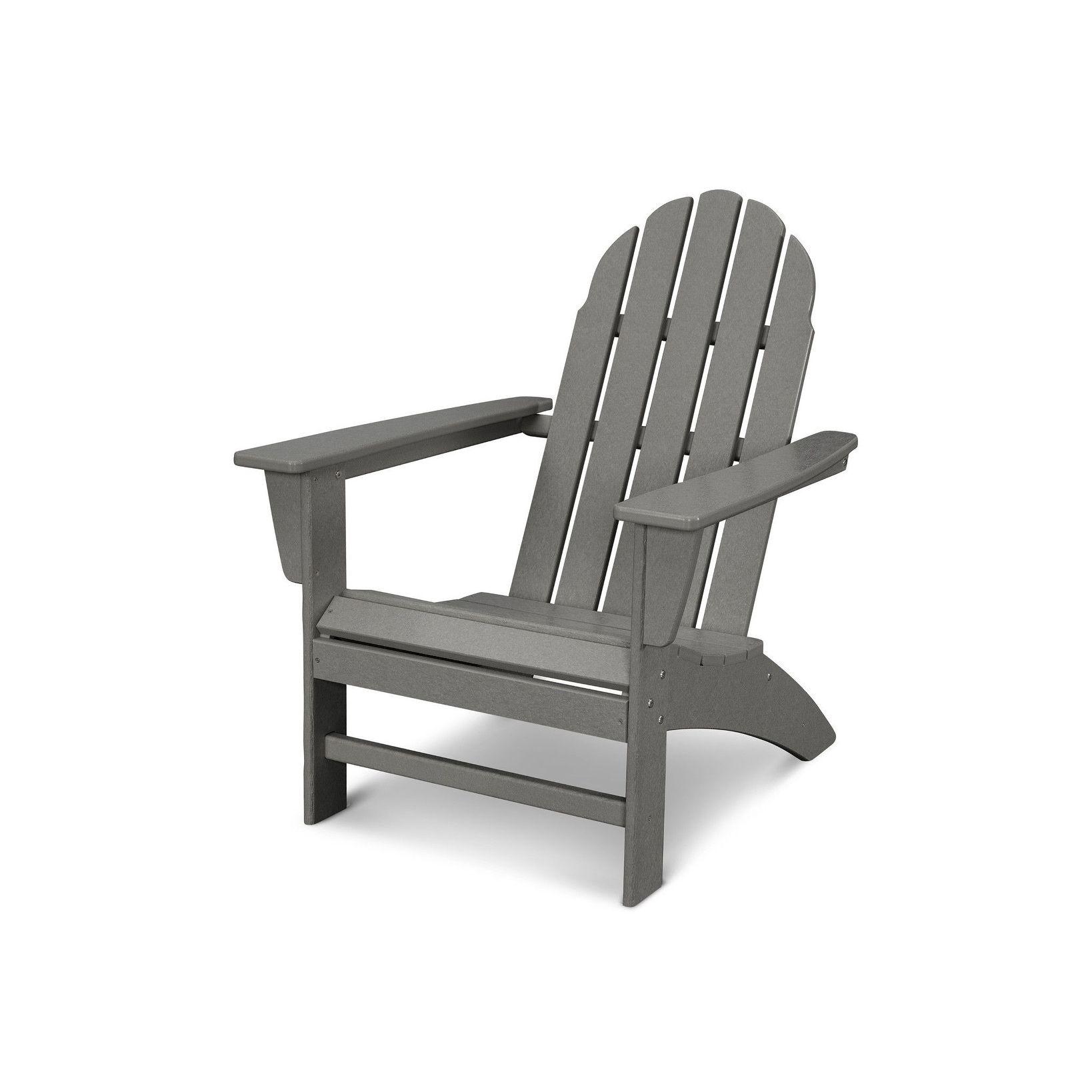 Polywood Vineyard Outdoor Adirondack Chair Outdoor Furniture