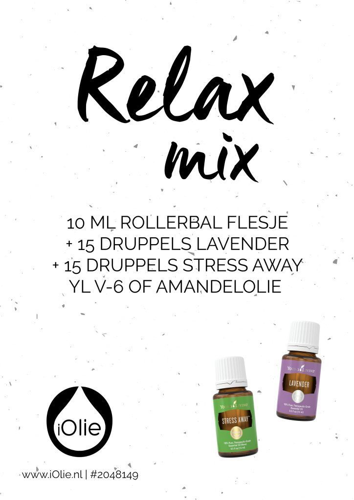 Super Seven 6 Relax Mix Essentiele Oliemengels Young Living