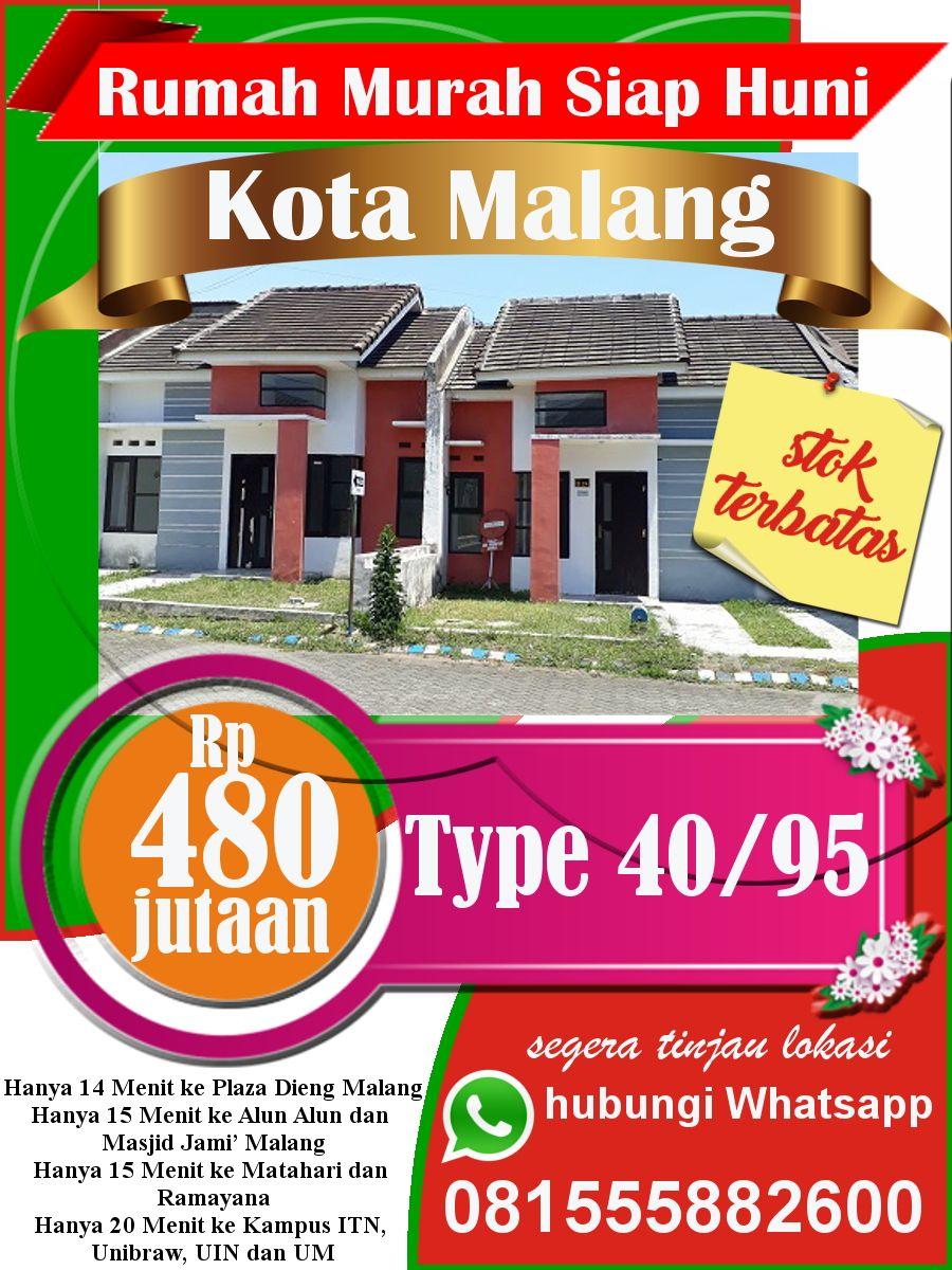 Rumah Murah Di Sukun Kota Malang Type 40 95 Hanya 400 Jutaan Malang Kota Empati