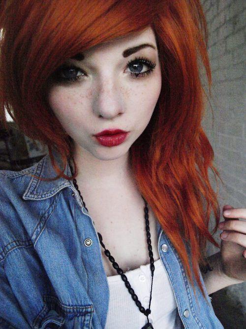 эмо рыжая девка фото - 6