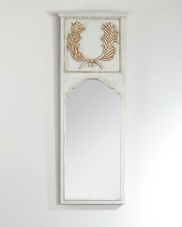 Trumeau Mirror, Ivory