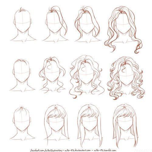Curly Hair Styles The Best Hairdos For Wavy Hair Uncover A Great Deal Of Styling Hints For Creating As Well As Mai Risovat Narisovat Volosy Risovanie Volos