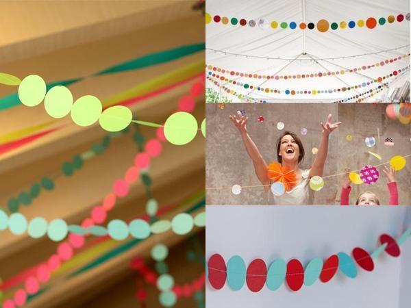 ideas para la decoracin de fiestas puntos