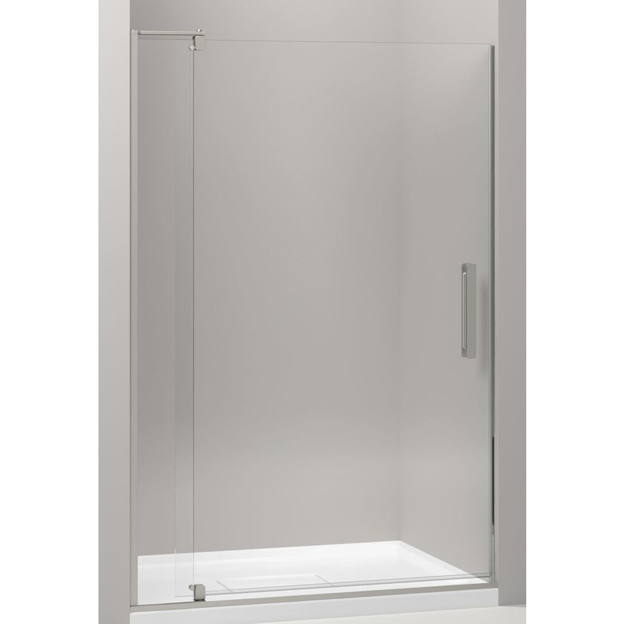 Kohler Revel 43125 In To 48 In Frameless Pivot Shower Door Lowes