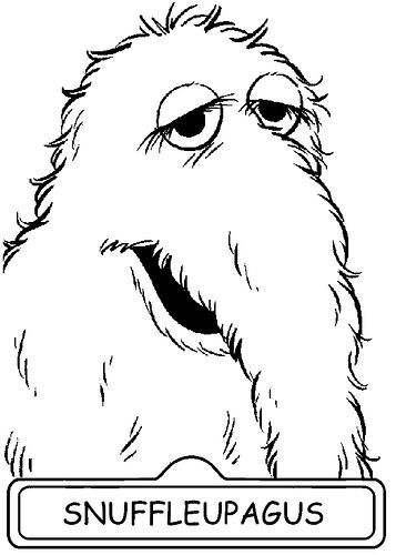 snuffy drawing