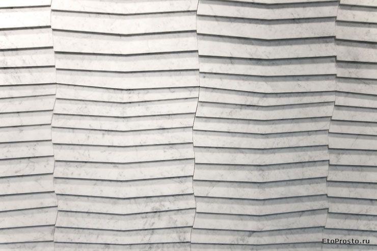 Three Dimensional Tile From Petra Antiqua