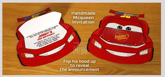 Invite guests over with these fun lightning mcqueen for Raumgestaltung mcqueen
