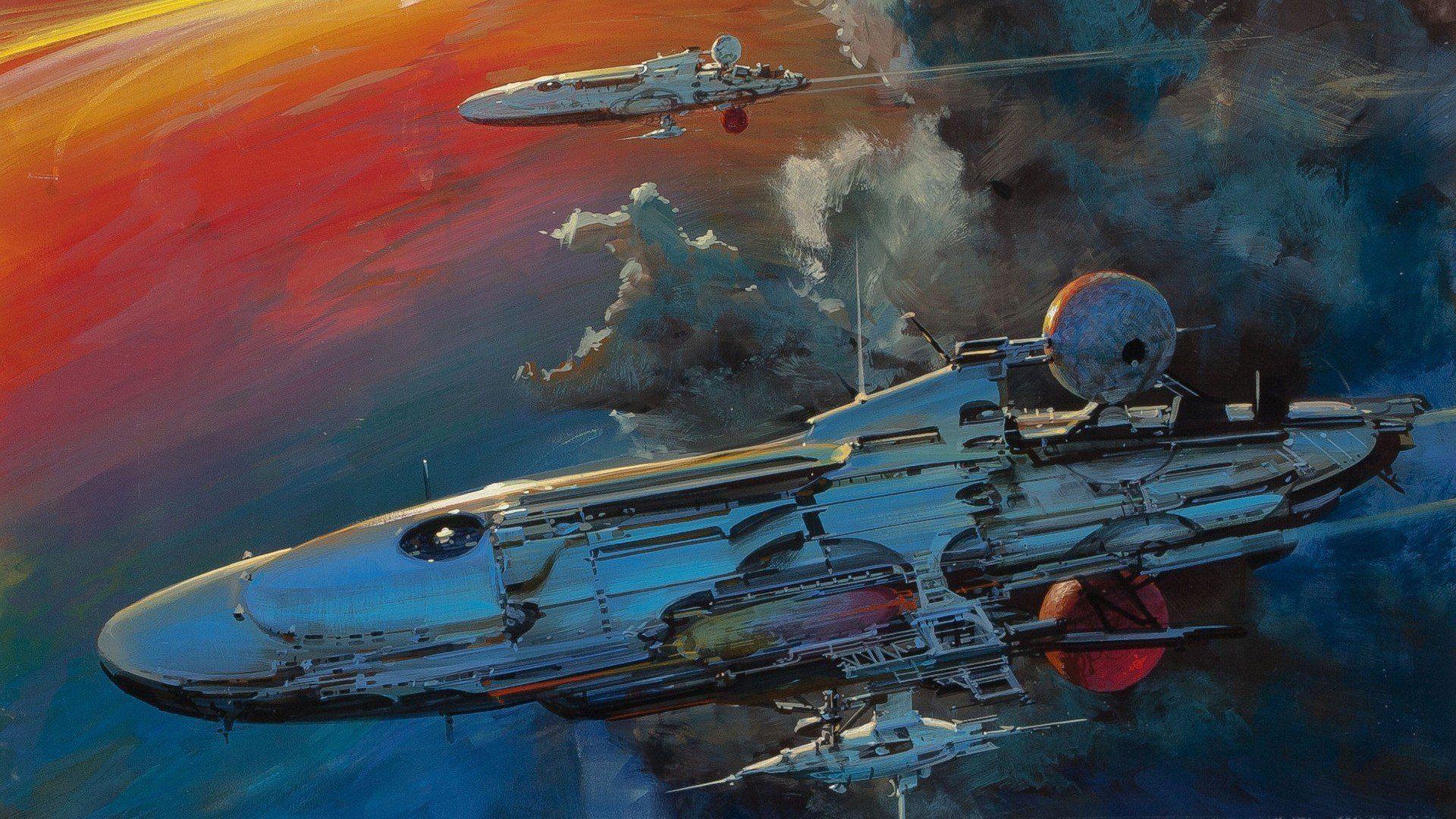 Artwork Spaceships Space Concept Art Fantasy Art Science ...