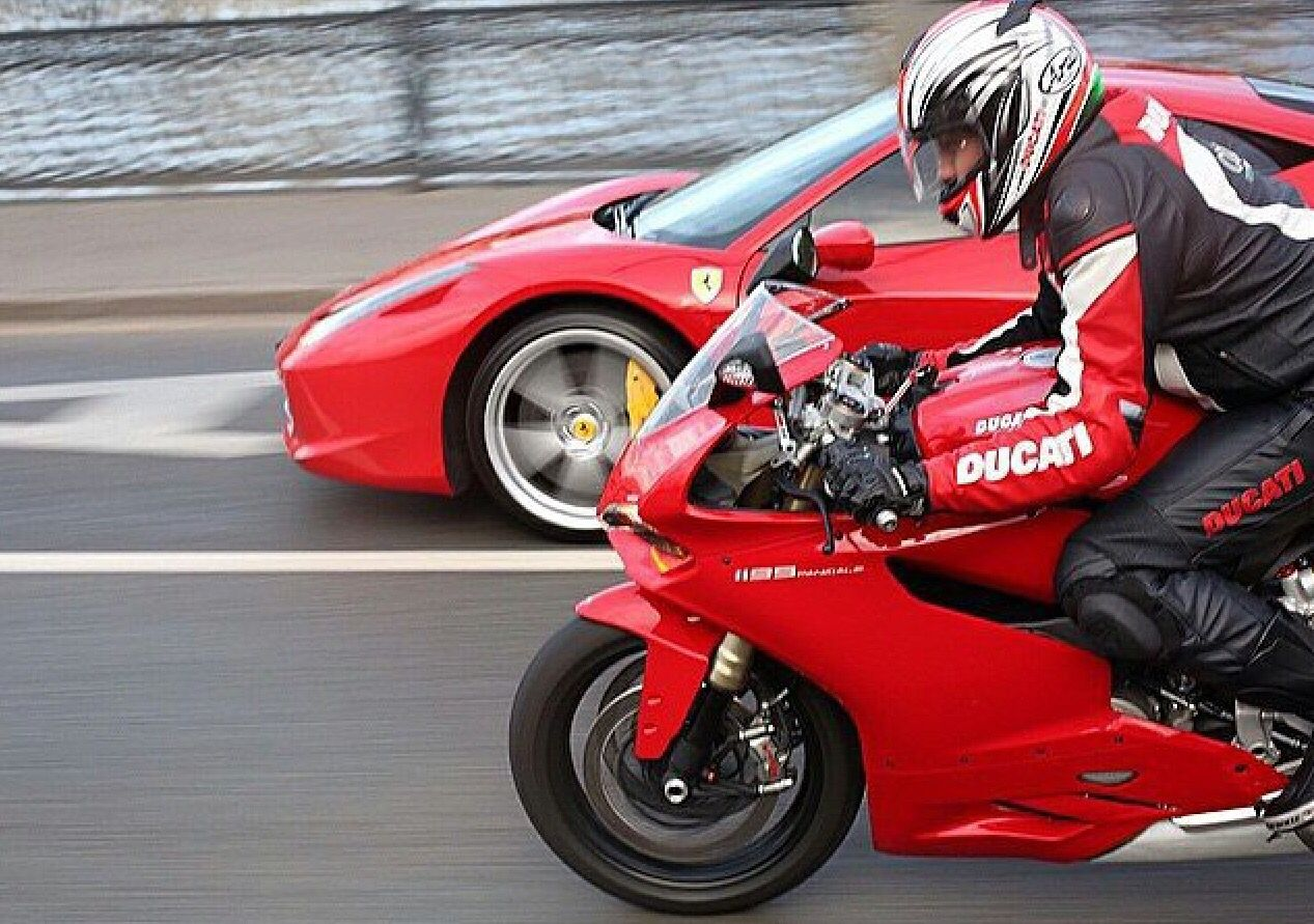 Ducati vs ferrari
