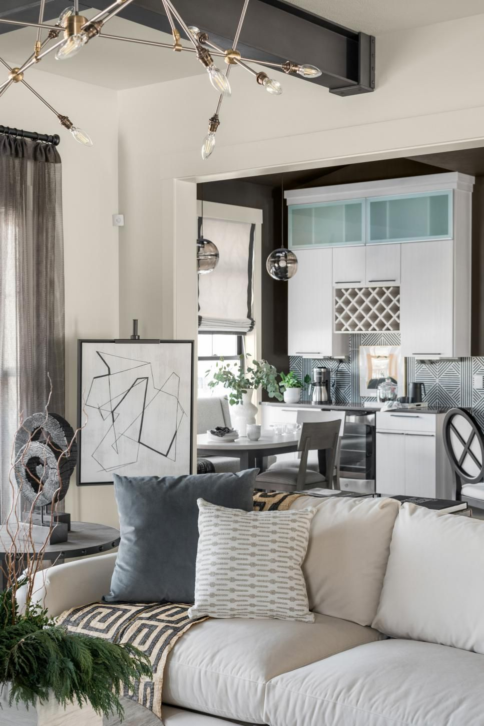 Pictures Of The Hgtv Smart Home 2020 Living Room Hgtv Smart Home 2020 Hgtv In 2020 Home Smart Home Great Rooms