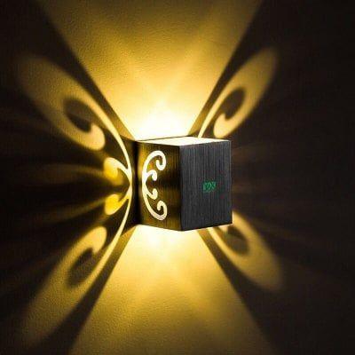 Ywxlight Led Wall Lamp Sconce 3w Butterfly Light Ktv Party Bar Ac110 240v Sale Price Reviews Lampu Malam Desain Lampu Lampu