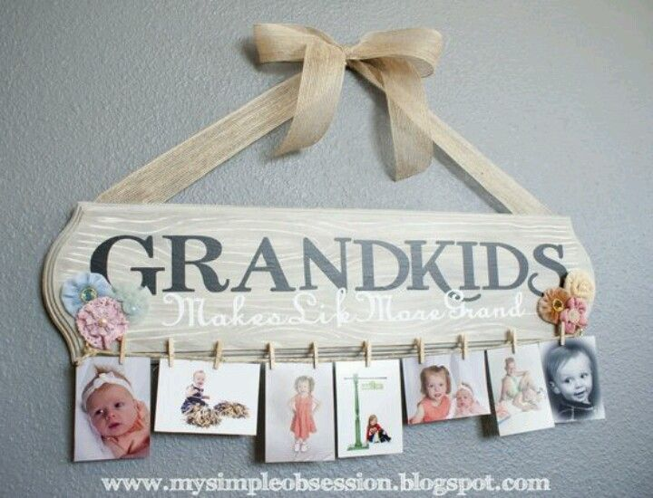 Grandkids picture frame | crafts | Pinterest | Gifts, DIY Gifts and ...