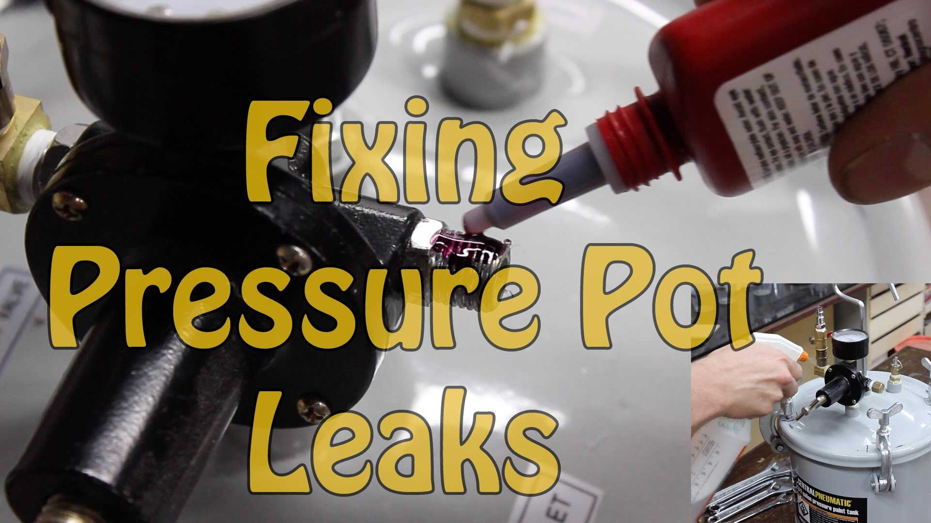 How to Find and Fix Air Leaks in a Pressure Pot for Resin