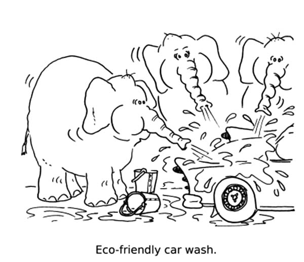 Eco Friendly Car Wash Coloring Pages Best Place To Color Eco Friendly Cars Coloring Pages Cars Coloring Pages