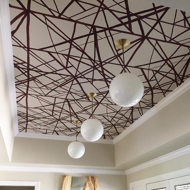 Alto Rod 12 Wallpaper ceiling, Bold wallpaper, Ceiling