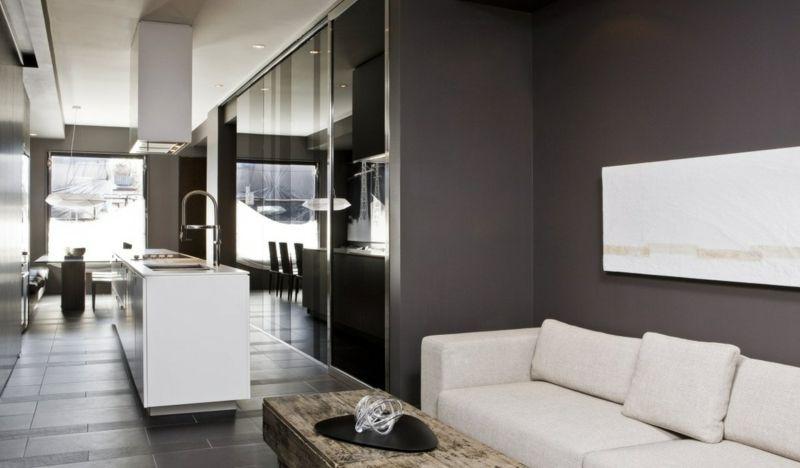 Hervorragend Farbideen Fürs Wohnzimmer Grau Wand Weiss Moebel Kueche Modern | Wohnzimmer  | Pinterest | Wohnzimmer Grau, Wohnzimmer Wände Und Küchen Modern