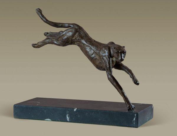 Bronze Cats sculpture by artist Alison Murray Wells titled ...