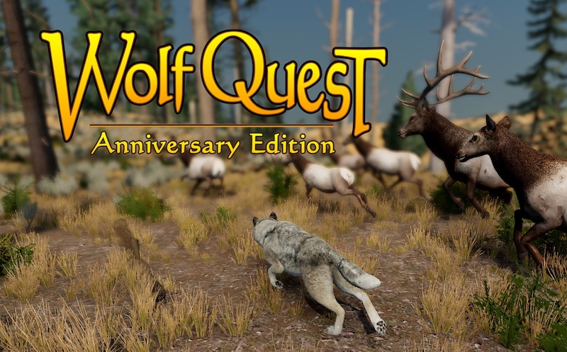 WolfQuest in 2020 Animals wild, Simulation games, Gaming pc