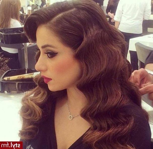 Die Inspirationen Für Vintage Frisuren Für Lange Haare Für Einige